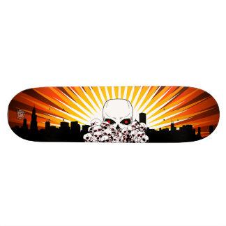Ville de crâne skateboard 19,7 cm