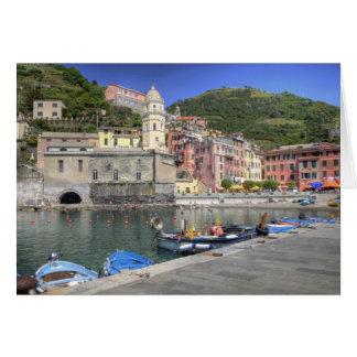 Ville de Hillside de Vernazza, Cinque Terre, Carte