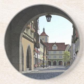 Ville de la Bavière par une voûte Dessous De Verre En Grès