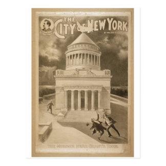Ville de New-York Carte Postale
