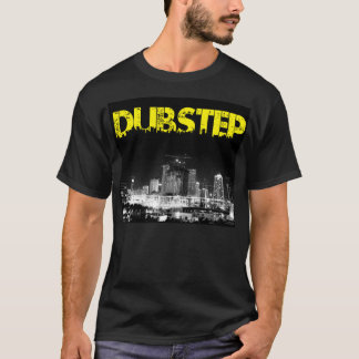 Ville de noir de T-shirt de Dubstep