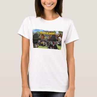 Ville du T-shirt des femmes de Salem