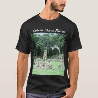 Ville maya de site archéologique de Copan Honduras T-shirt