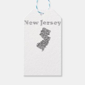 Villes de New Jersey Étiquettes-cadeau