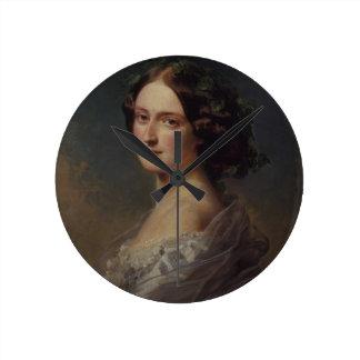 Villiers d'enfant de Madame Clementina Augusta Horloge Ronde