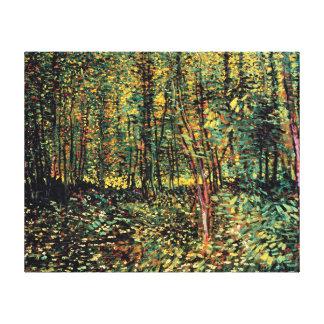 Vincent van Gogh - arbres et beaux-arts de Toiles