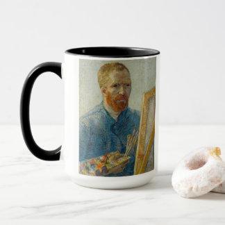 Vincent van Gogh - autoportrait et tasse de
