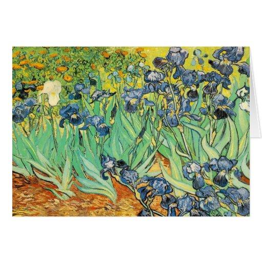 Vincent van Gogh - Irissen Kaarten