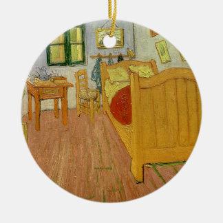 Vincent van Gogh | la chambre à coucher, 1888 Ornement Rond En Céramique