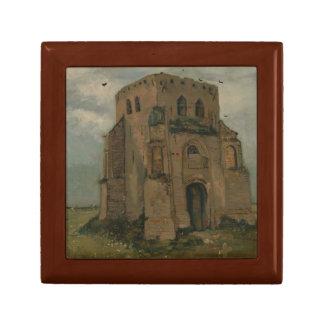 Vincent van Gogh - la vieille tour d'église chez Boîte À Souvenirs