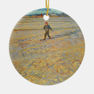 Vincent van Gogh | le semeur, 1888 Ornement Rond En Céramique