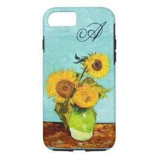 Vincent van Gogh trois tournesols dans un vase Coque iPhone 7