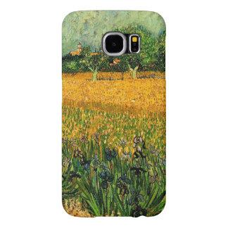 Vincent van Gogh-Vue d'Arles avec des iris