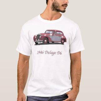 Vintage Auto Delage T Shirt