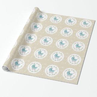 Vintage Baby Inpakpapier