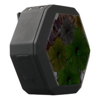 Vintage BloemenCollage Zwarte Bluetooth Speaker