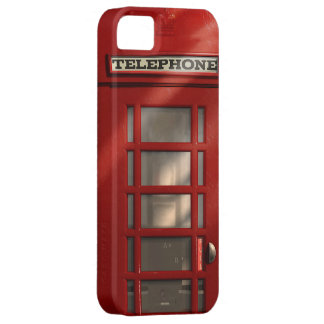 Vintage Britse Rode Telefooncel iPhone 5 Case