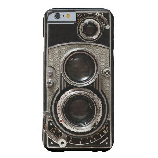 Vintage Camera Barely There iPhone 6 Hoesje
