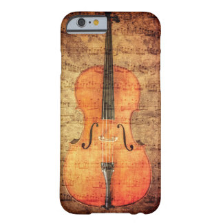 Vintage Cello Barely There iPhone 6 Hoesje