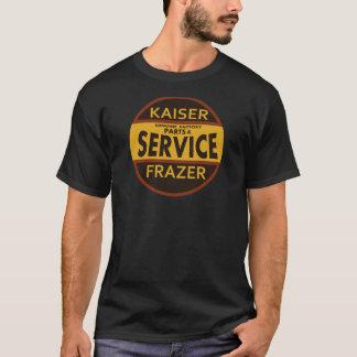 Vintage de dienstteken van Kaiser Frazer T Shirt