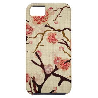 Vintage de geval-Partner van de boom van de Kers G iPhone 5 Covers