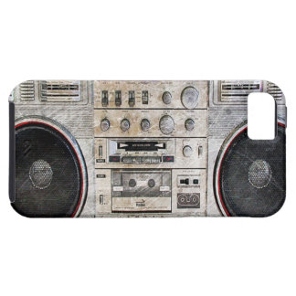 vintage gettozandstraler tough iPhone 5 hoesje
