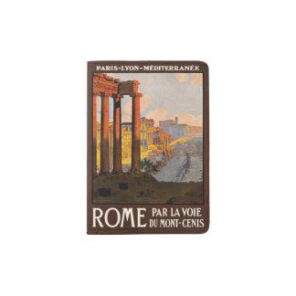 Vintage het paspoorthouder van Rome Italië Paspoort Houder