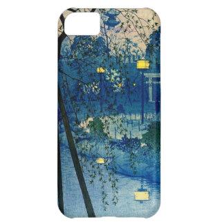 Vintage Japanse Avond in Blauw iPhone 5C Hoesje