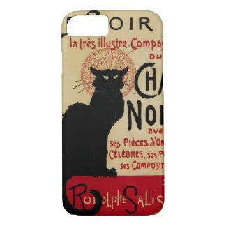Vintage Jugendstil, de Zwarte Kat van Noir van het iPhone 8/7 Hoesje