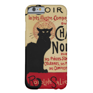 Vintage Jugendstil, Le Chat Noir Barely There iPhone 6 Hoesje