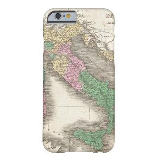 Vintage Kaart van Italië (1827) Barely There iPhone 6 Hoesje