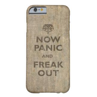 Vintage nu Paniek en Buitenissig uit Barely There iPhone 6 Hoesje