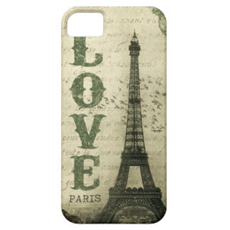 Vintage Parijs Barely There iPhone 5 Hoesje