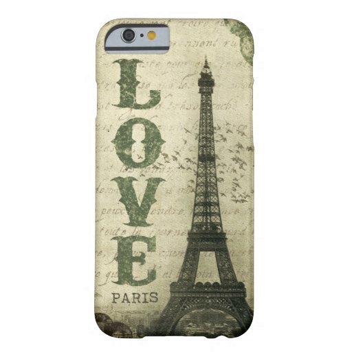 Vintage Parijs Barely There iPhone 6 Case