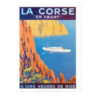 Vintage reis Corsica - Briefkaart