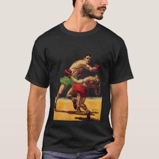 Vintage Sporten, Boksers in een het In dozen doen T Shirt