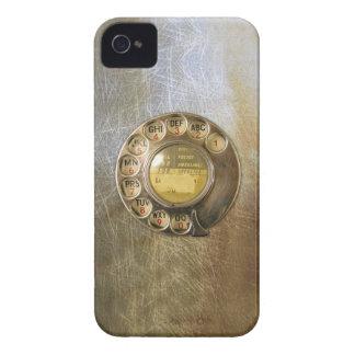 Vintage Telefoon iPhone 4 Hoesje