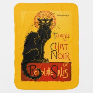 Vintage Tournée Du Chat Noir Theophile Steinlen Couverture De Bébé
