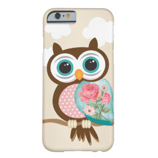 Vintage Uil Barely There iPhone 6 Hoesje