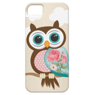 Vintage Uil iPhone 5 Case-Mate Hoesjes