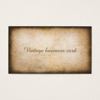 Vintage visitekaartje visitekaartjes