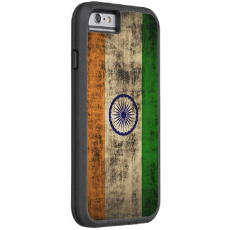 Vintage Vlag Grunge van India Tough Xtreme iPhone 6 Hoesje