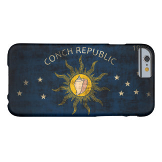 Vintage Vlag Grunge van Key West Florida Barely There iPhone 6 Hoesje