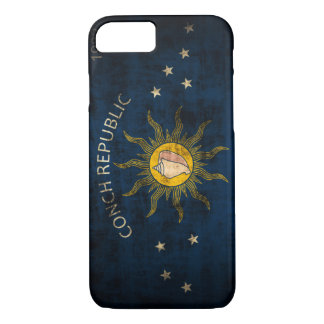 Vintage Vlag Grunge van Key West Florida iPhone 7 Hoesje