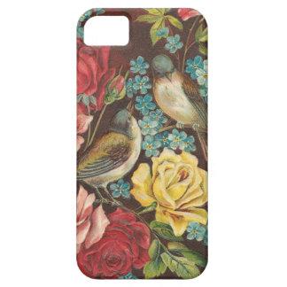 Vintage Vogels en Bloemen