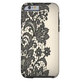 Vintage zwarte de modeiPhone5case van Parijs van Tough iPhone 6 Case