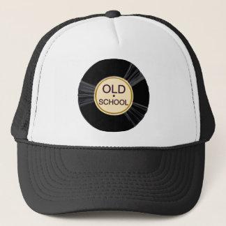 Vinyle de vieille école casquette