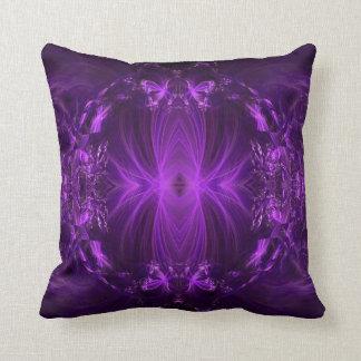 Violetkleurige Paarse Linten Sierkussen