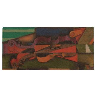 Violon et guitare par Juan Gris Clé USB 3.0 En Bois