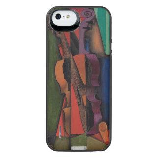 Violon et guitare par Juan Gris Coque Batterie Pour iPhone SE/5/5s